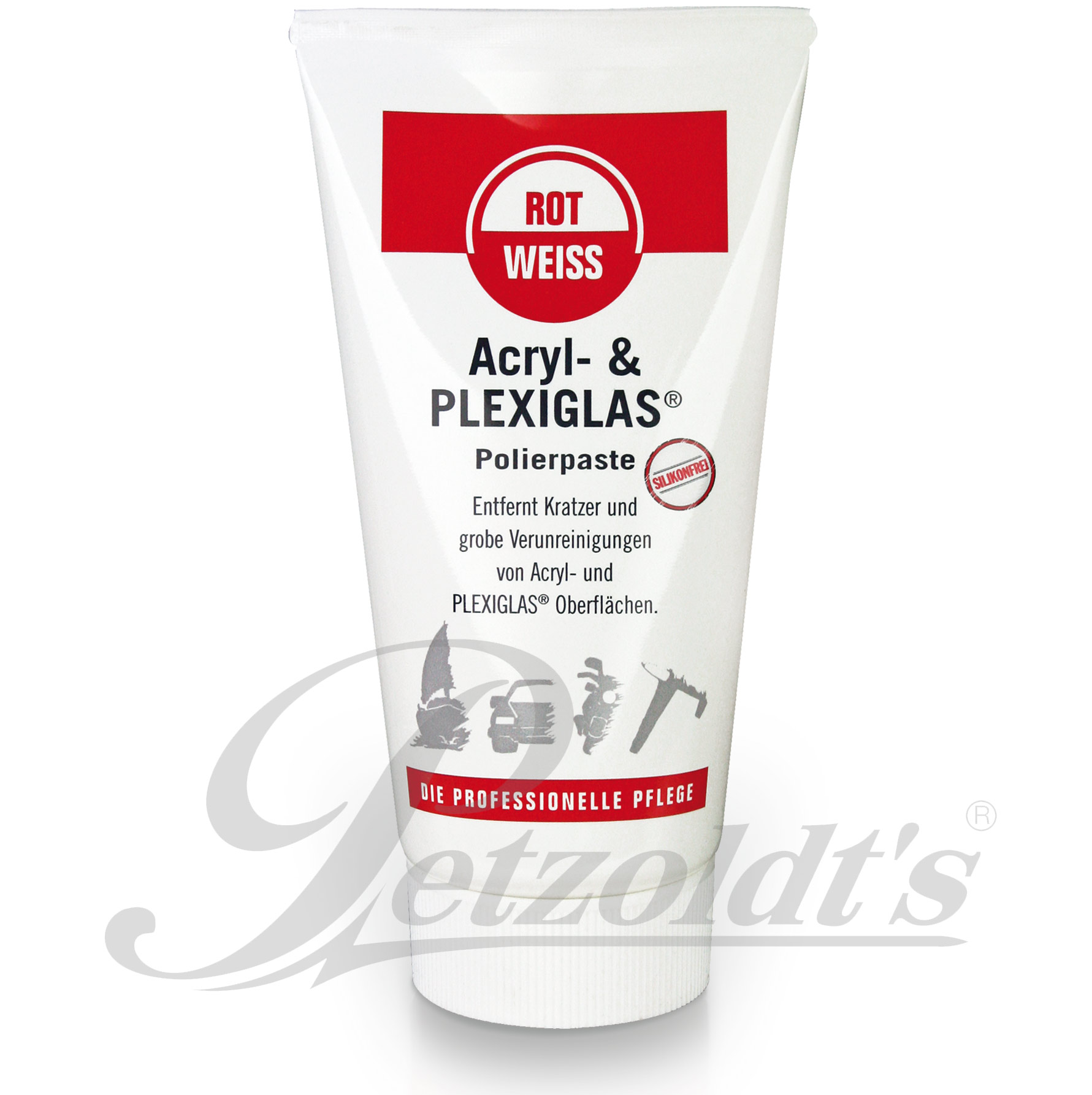 Acryl- und PLEXIGLAS Polierpaste von RotWeiss, 150ml