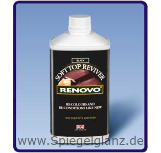 renovo stoffverdeck f rbung blau 1000ml spiegelglanz. Black Bedroom Furniture Sets. Home Design Ideas