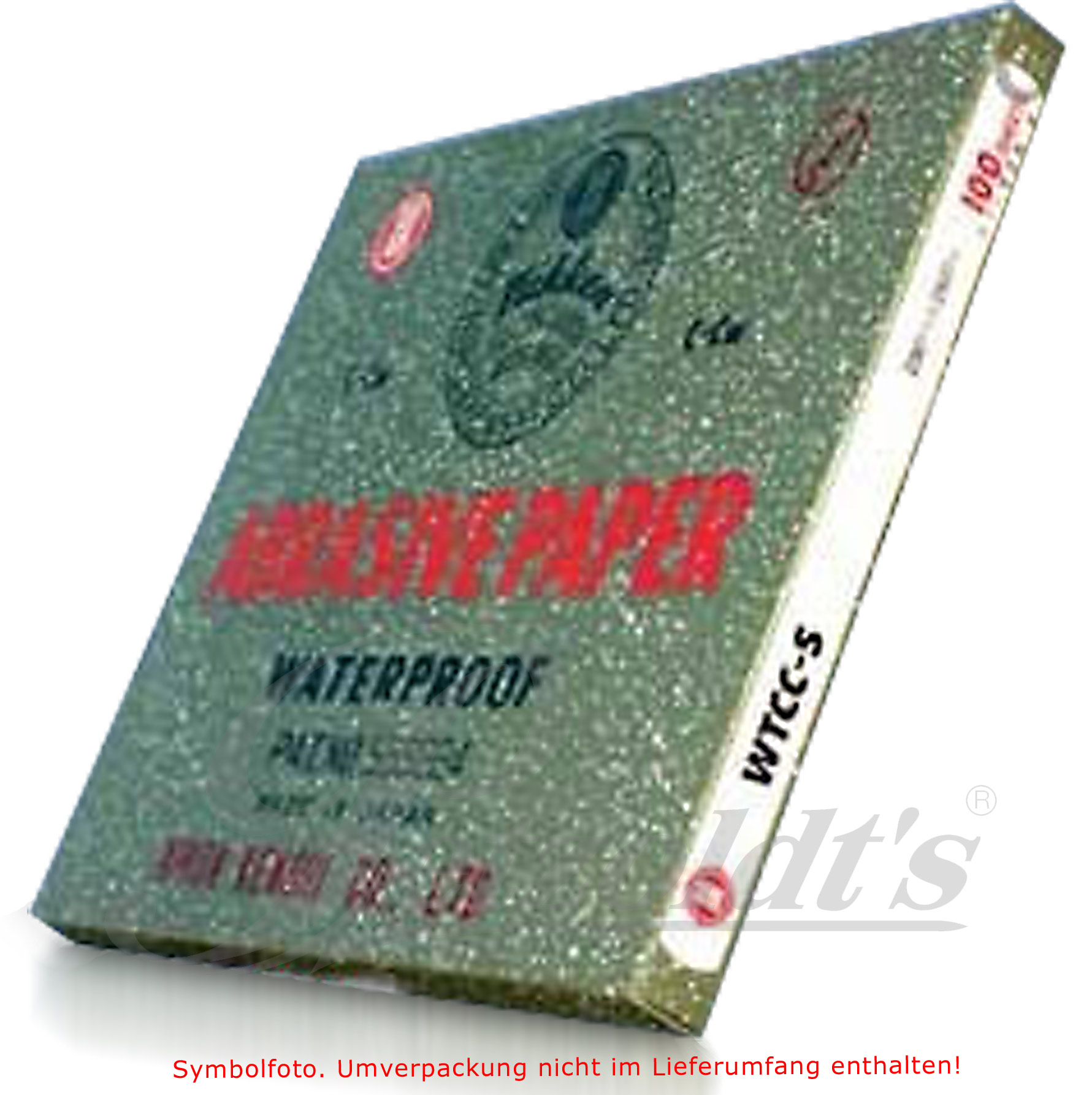 Nikken Nass-Schleifpapier, 800,1200,1500, 2000, 2500, 3000
