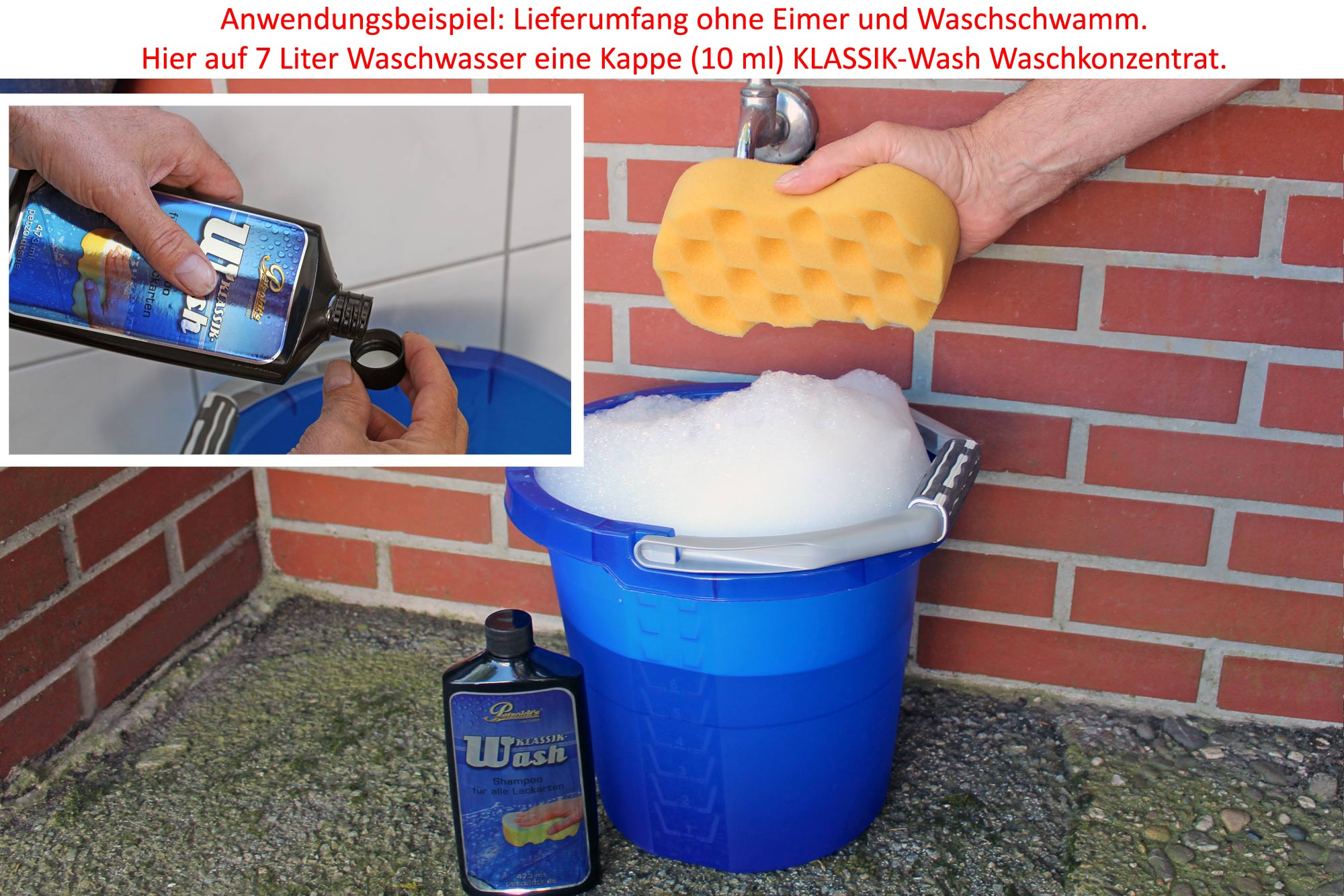 Petzoldts KLASSIK-Lackpflegeset, mit KLASSIK-Glass, KLASSIK-Wash