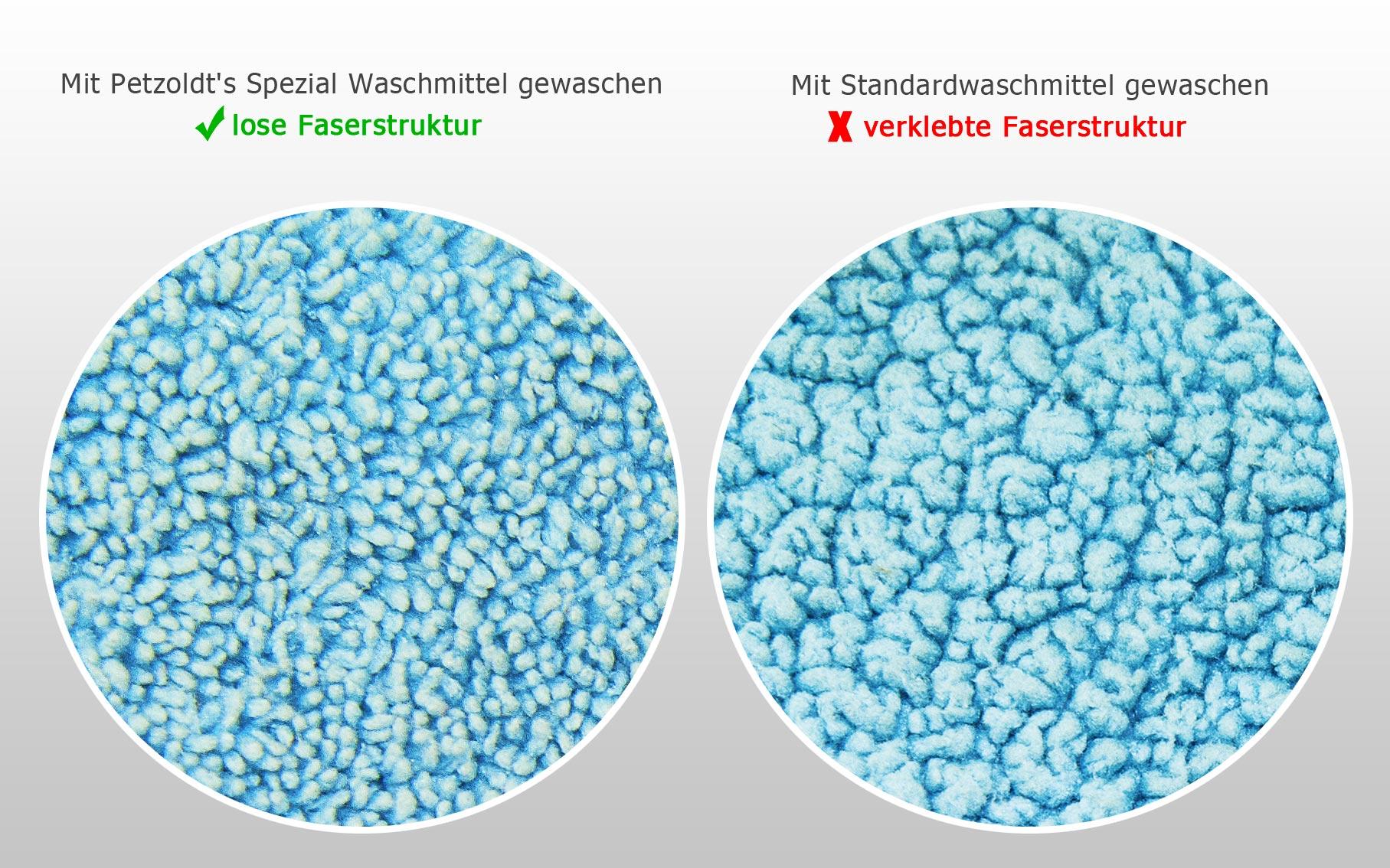 Petzoldts Spezialwaschmittel für Microfasertücher