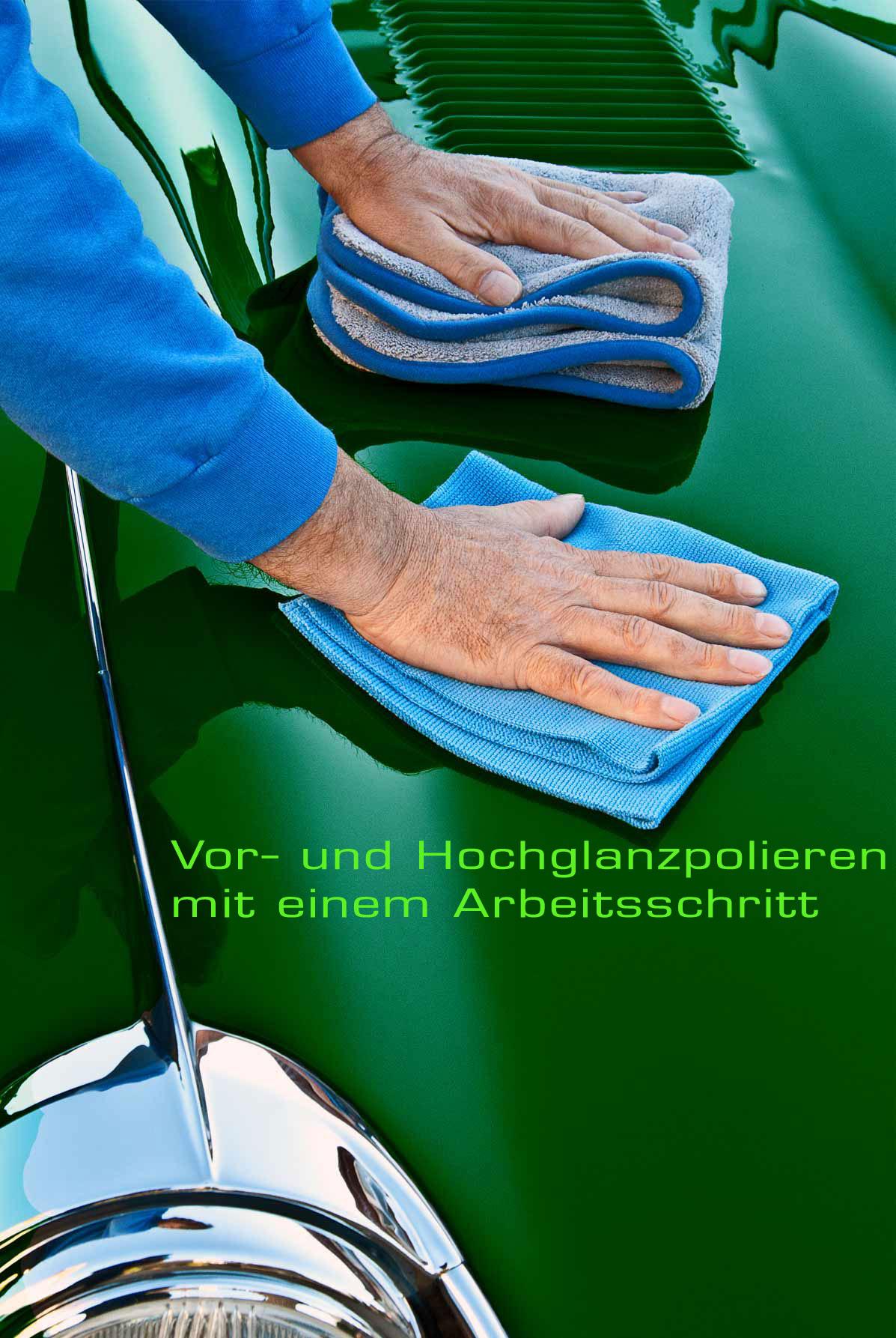 Petzoldts Microfasertücher Aktionsset Lackpflege