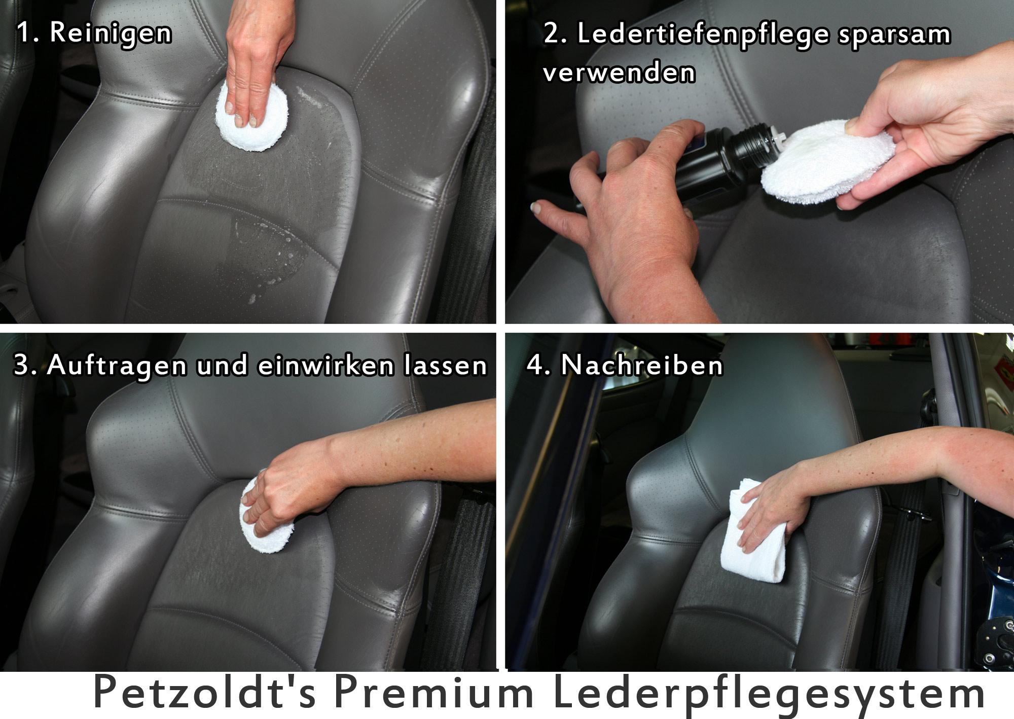 Petzoldts Premium Lederpflege-Set