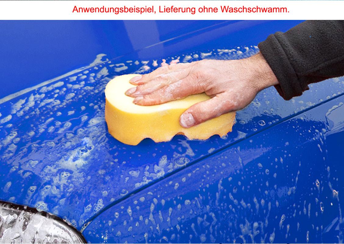 Petzoldts Wasch-Wachs Autoshampoo, mit Abperleffekt