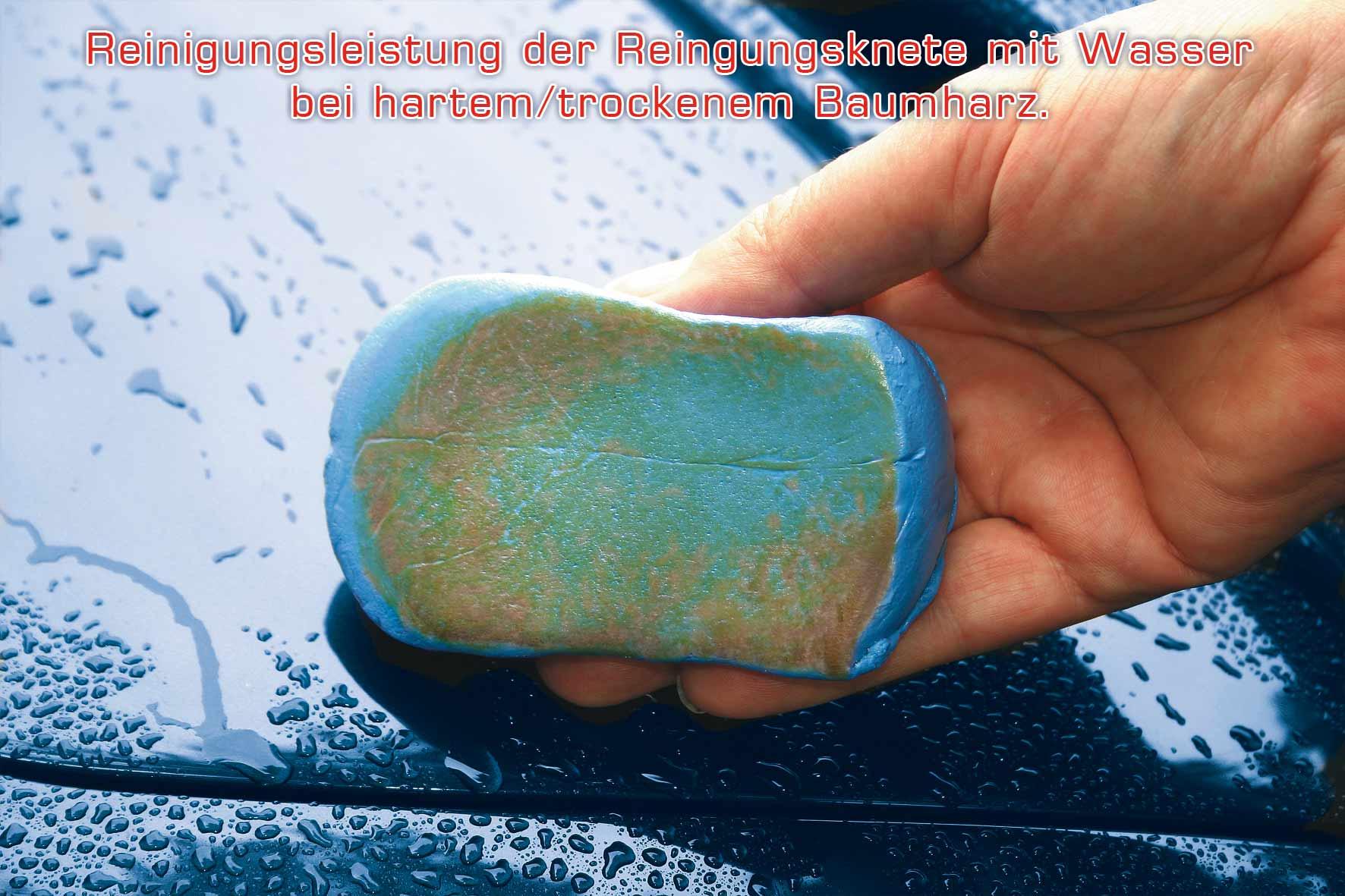Reinigungsknete-Gleitmittel Set, zur Lackreinigung, Petzoldts