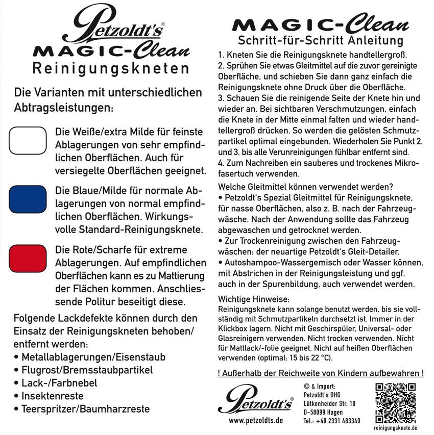 Petzoldts Reinigungsknete-Experten Set, zur Lackreinigung