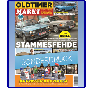 Politurentest 2020 OLDTIMER MARKT Sonderdruck