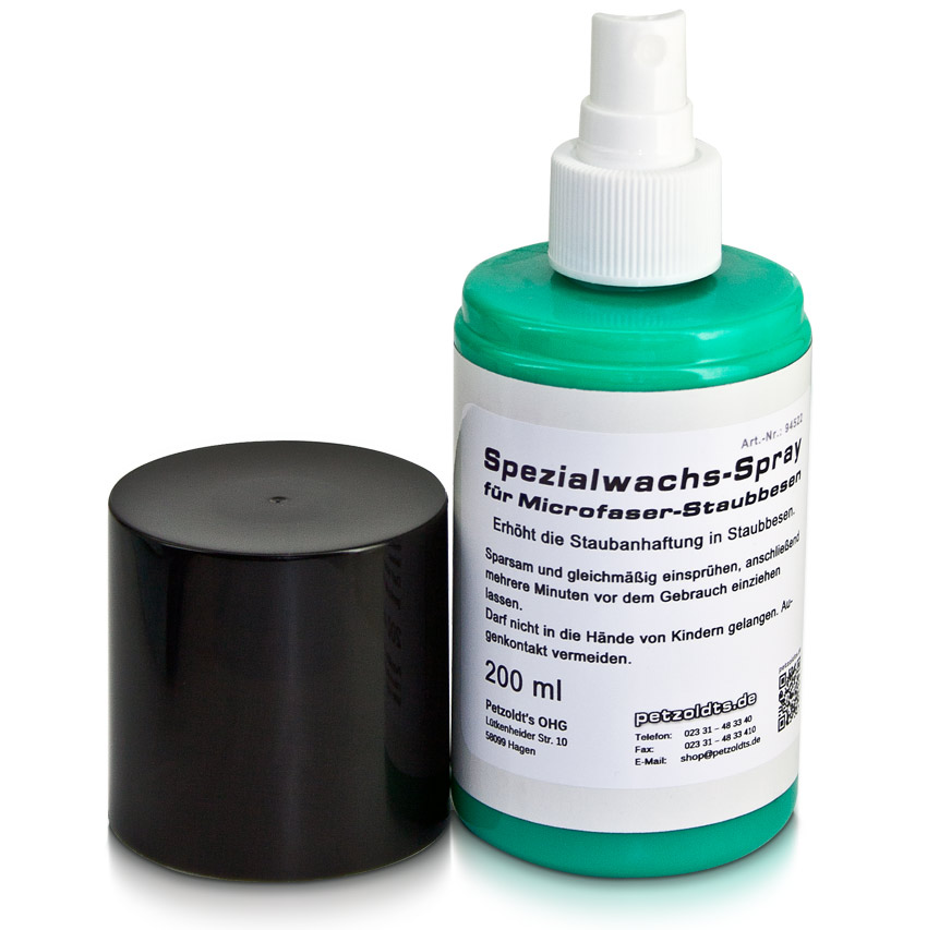 Spezialwachs-Spray für Microfaser-Staubbesen