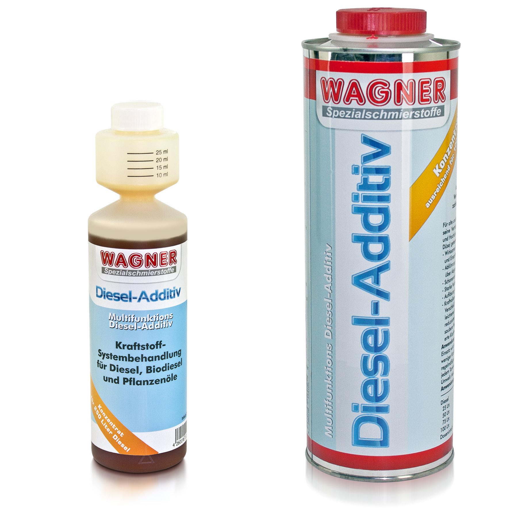 WAGNER Diesel-Additiv, 2- und 4-Takt-Dieselmotoren