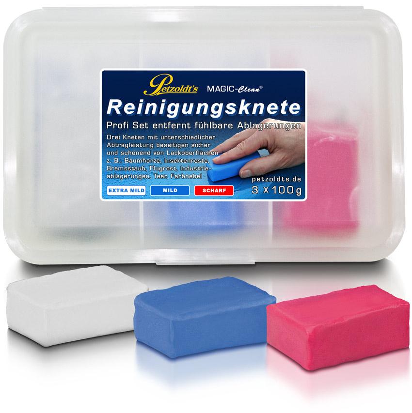 Petzoldts Reinigungsknete-Profi Set, zur Lackreinigung
